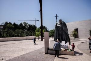 Papst Paul II - Messe in Fatima